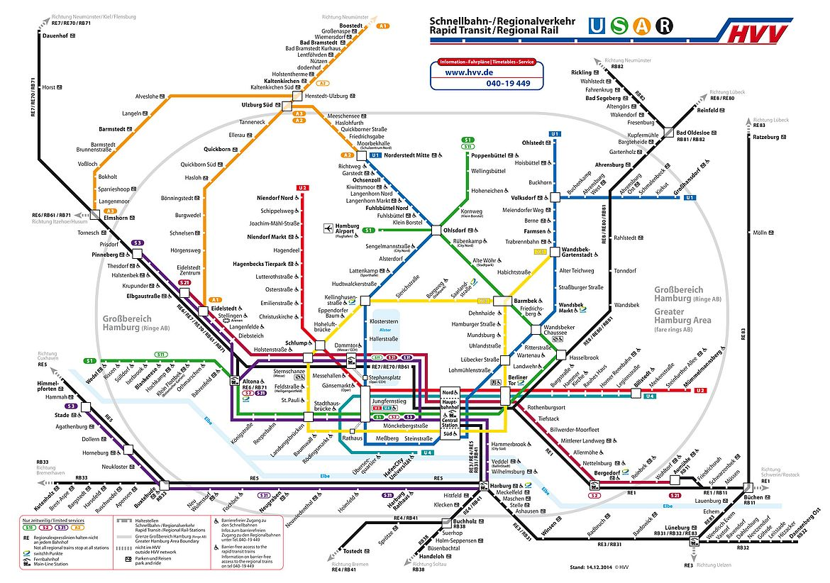 Rapid transit and regional rail plan
