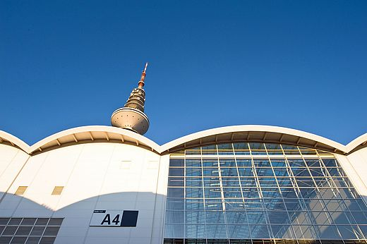 Hamburg Messe - Hall A4 (outside view)
